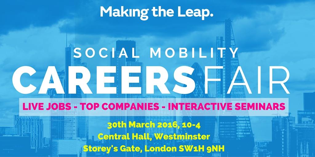 Social Mobility Careers Fair