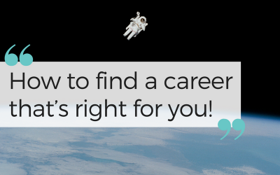 How to choose a career that's right for you