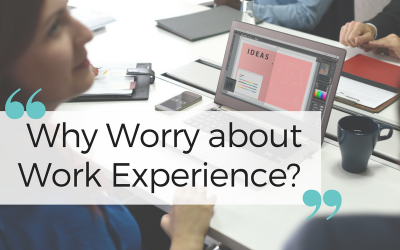 Why Worry about Work Experience?
